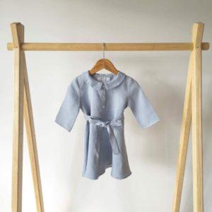 Claasic collar dress daughter