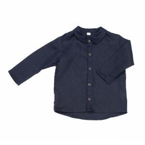 Fly_away_at_night_Boys_Collared_Shirt